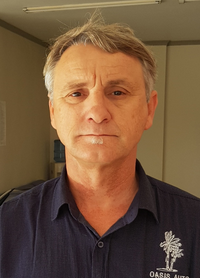 Christo Wessels - Oasis Auto - Used Cars Strand Western Cape