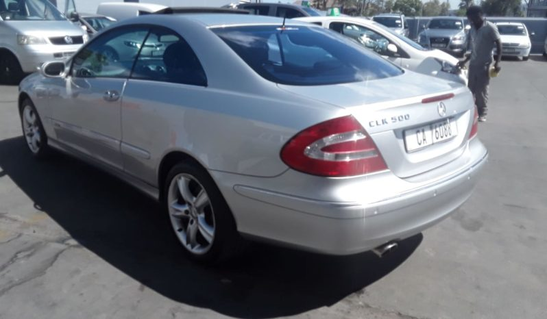 2002 Mercedes-Benz CLK 500 Coupe Elegance Touchshift available in Strand Helderberg Western Cape full