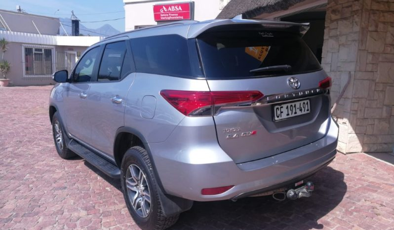 2017 Toyota Fortuner 2.4 GD-6 Raised Body AT available in Strand Helderberg Western Cape full