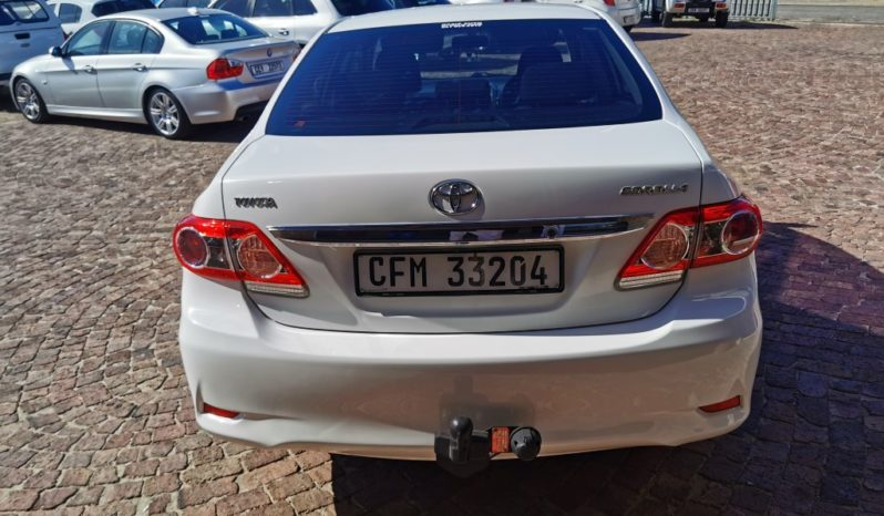 2011 Toyota Corolla 1.3 Advanced available in Strand Helderberg Western Cape full